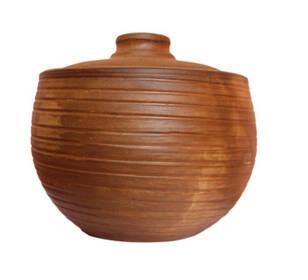 Чугунок глиняный малый 2,5л мудрый-дачник